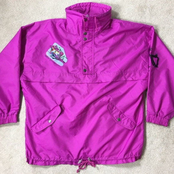 Elho Other - Vtg 80s 90s Elho Freestyle Jacket Sz L Neon 0a925fadb